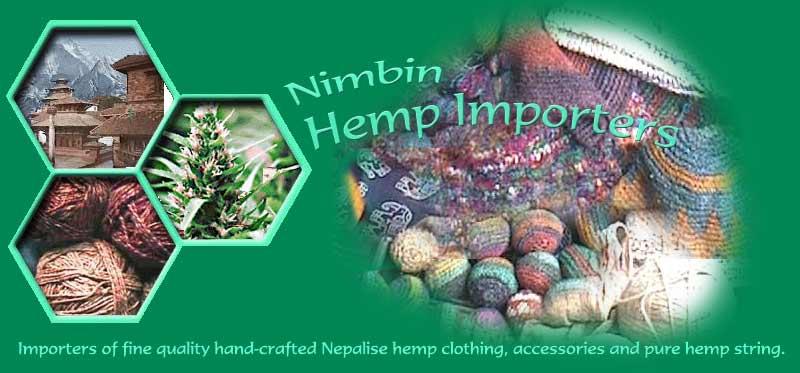 Nimbin Hemp Importers for hemp clothing and accessories, hemp hats